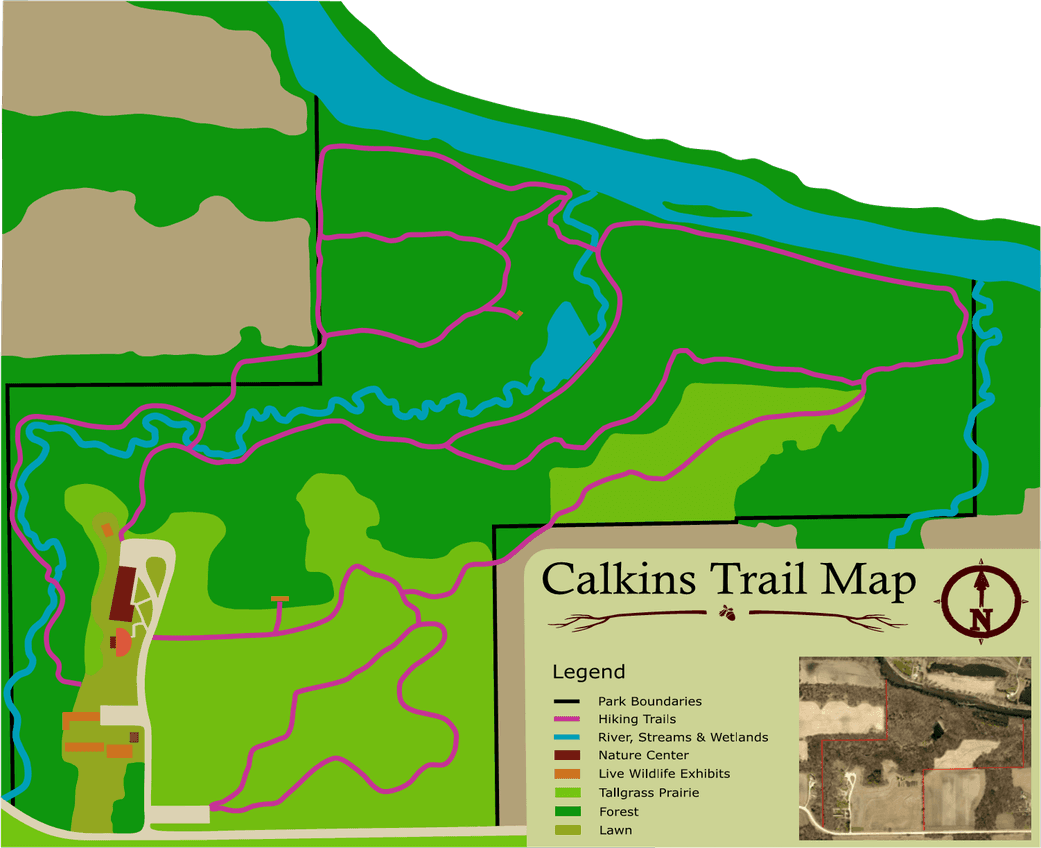 Calkins Trail Map
